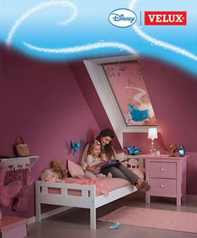 Disney & VELUX Dream Collection - Grosses Kino fürs Kinderzimmer